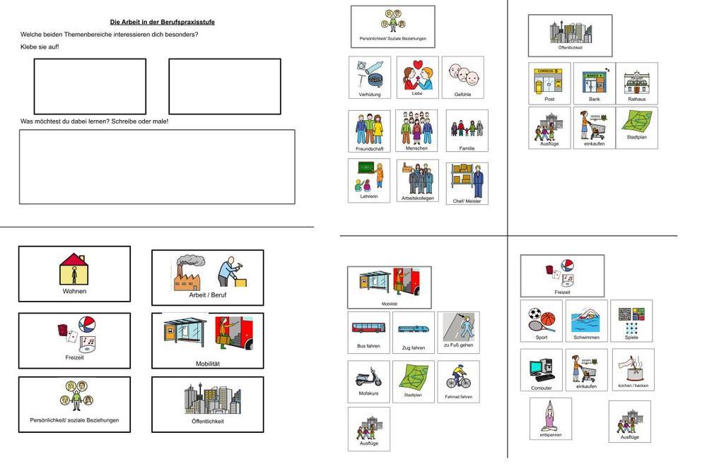 Lernbereiche Berufsschulstufe Bayern