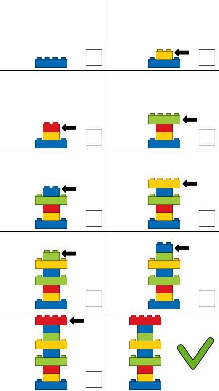 Bauen nach Plan - mit Lego und Duplo