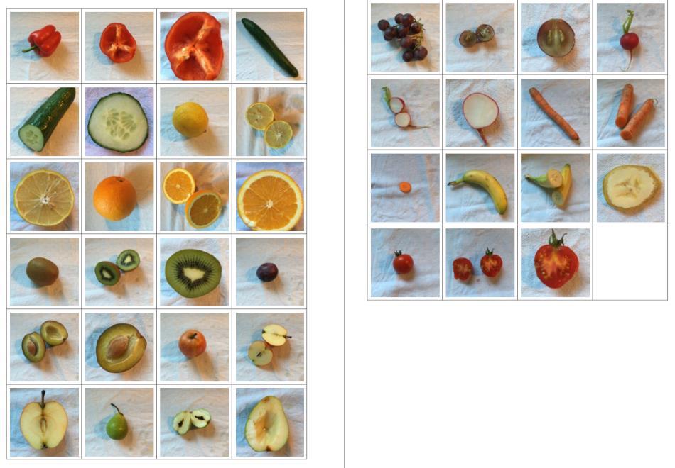 Memorie - Obst und Gemüse