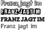 Gezeichnete Fonts