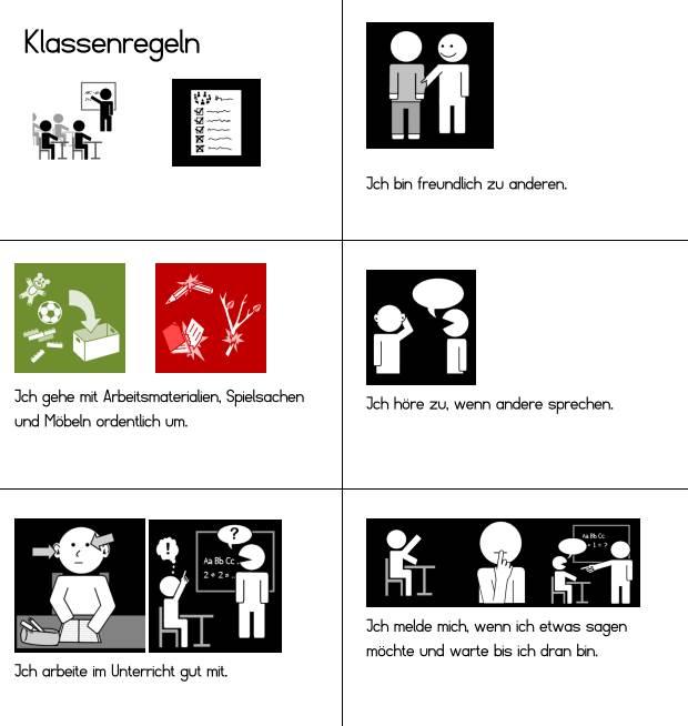 Klassenregeln