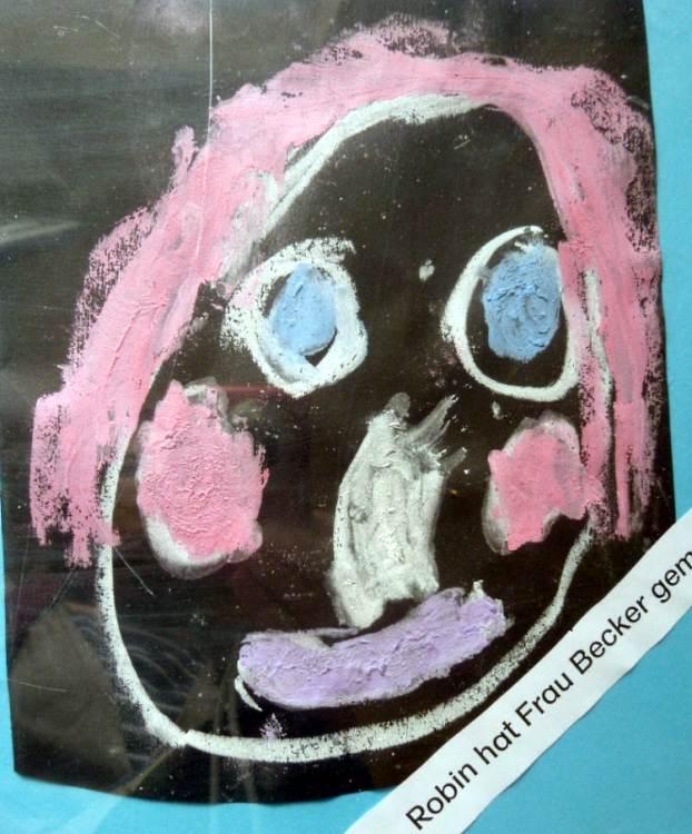 Malen mit nasser Kreide (Portraits)