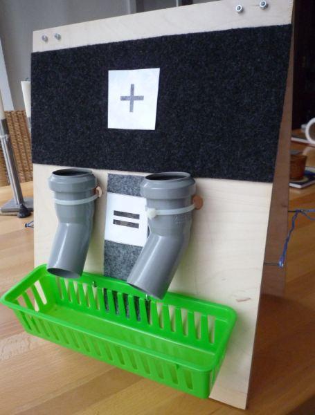 Bauanleitung für eine Silben und Additionsmaschine aus Holz