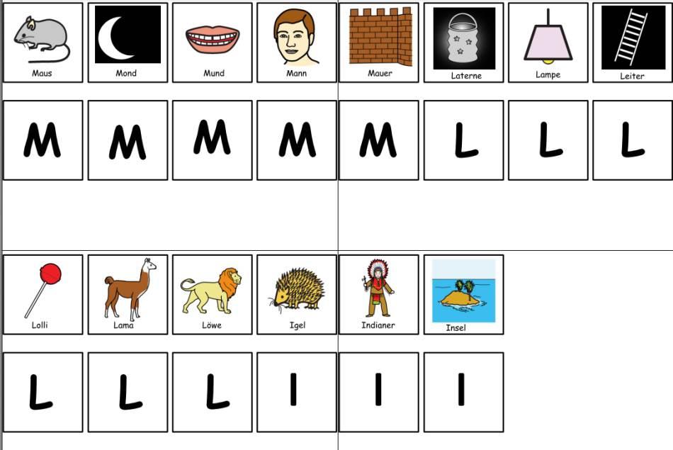 Anlautmemorie M - L - I