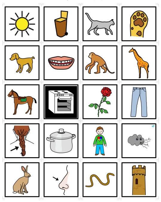 Memorie - Reimwörter