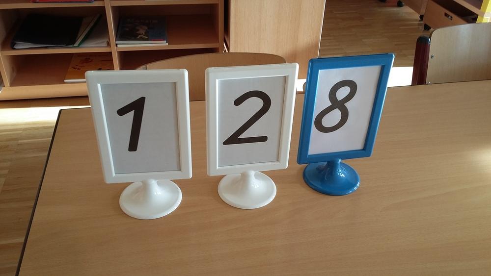 Stationen - Rahmen für Nummer und Arbeitsauftrag