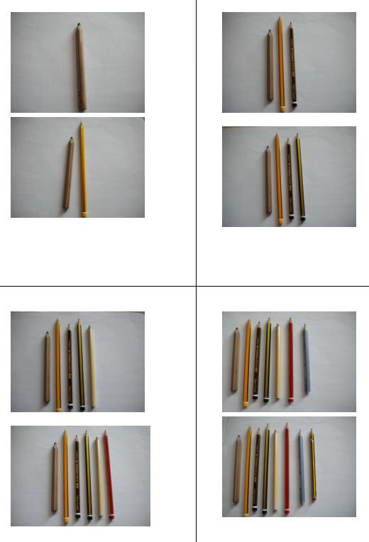 Bilder mit Stiften von 1-20