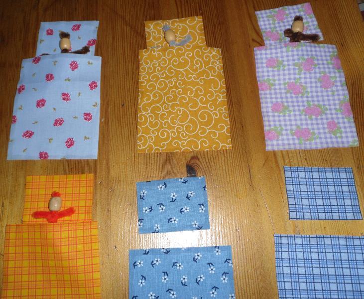 Decken und Kissen zuordnen