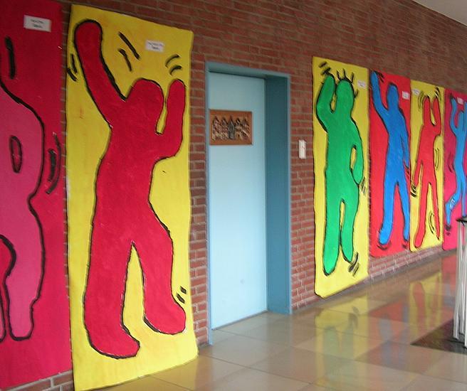 Keith Haring - Lebensgroße Figuren