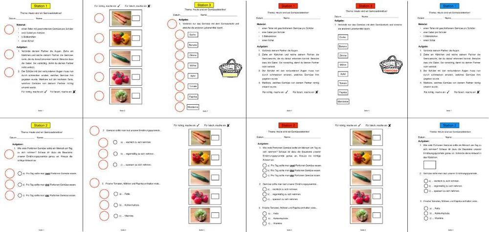 Gesunde Ernährung - Gemüse