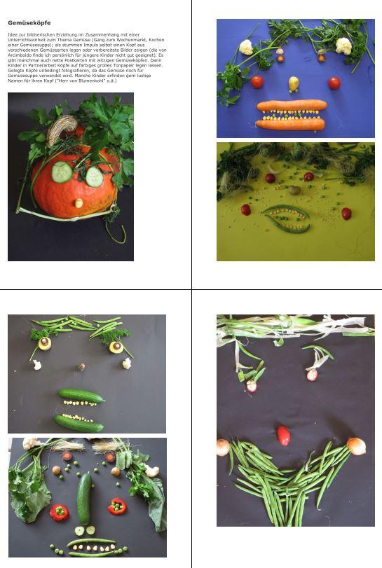 Gemüseköpfe
