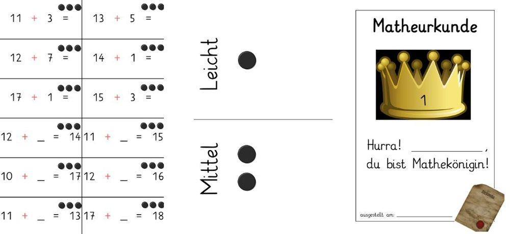 Mathequiz im Zahlenraum 20