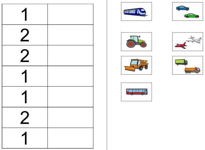 Aufgabenmappe - Mengen 1 und 2