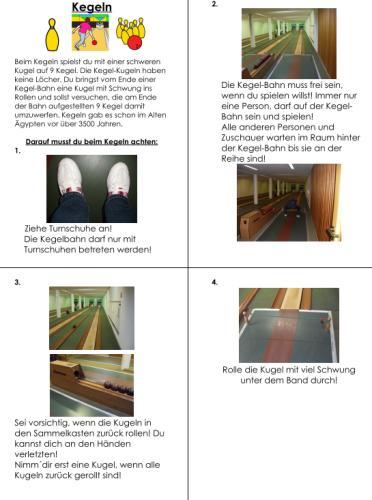 Kegeln - Regeln - Verhalten auf der Kegelbahn