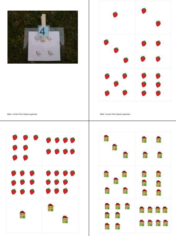 Zuordnung von Zahlen zu Mengen (Zahlenraum 10)