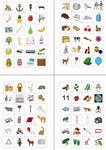 Anlautbilder - Buchstaben - Zuordnung