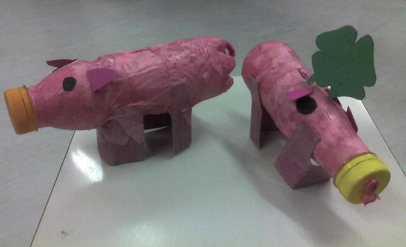 Glücksschweinderl bzw. Sparschwein