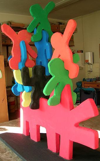 Keith Haring - Skulptur