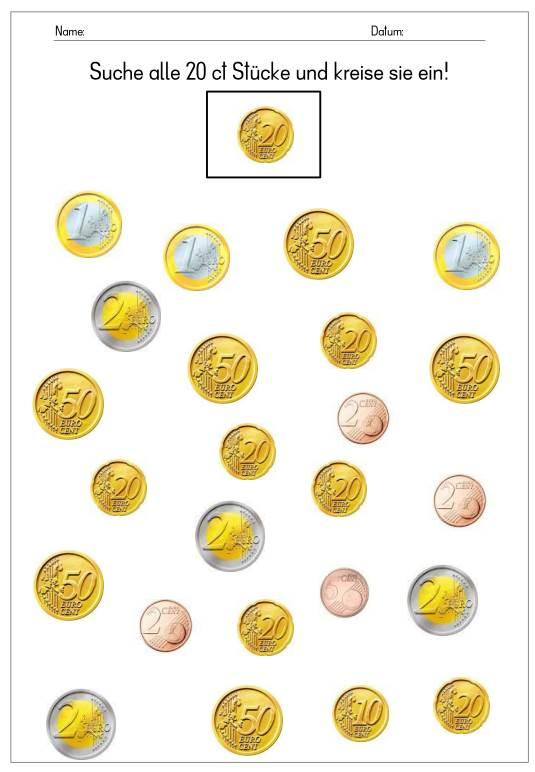 Euro-Münzen erkennen