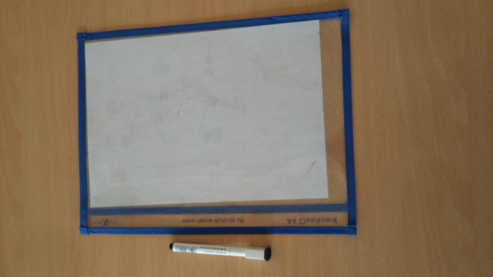 Alternative zum Laminieren und Papiersparen