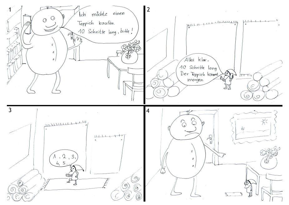 Cartoon - Längen