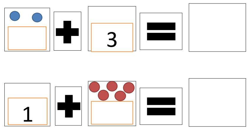 Mathe-Karten im ZR10 - passend zu den Rechenschiffchen