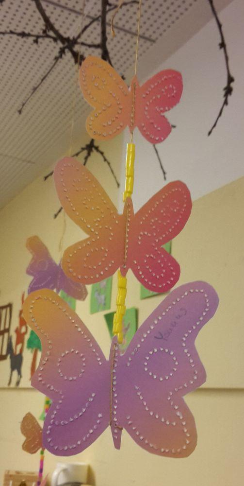 Schmetterlinge Mobile