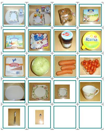 Frühstückskarten