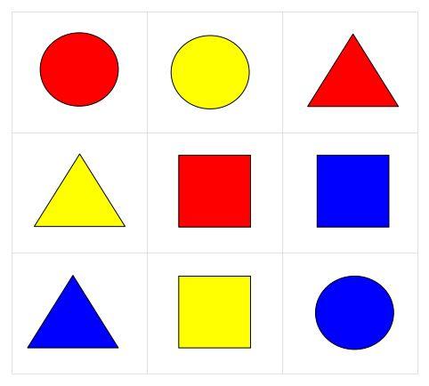 Formen Bingo