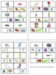 Klammerkarten - Reimwörter finden