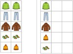 Aufgabenmappe - Kleidung (1:1-Zuordnung)