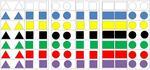 Aufgabenmappen Formen und Farben