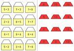 Aufgabenmappe - Häuser zum Rechnen