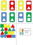 Aufgabenmappen - Farbe & Form