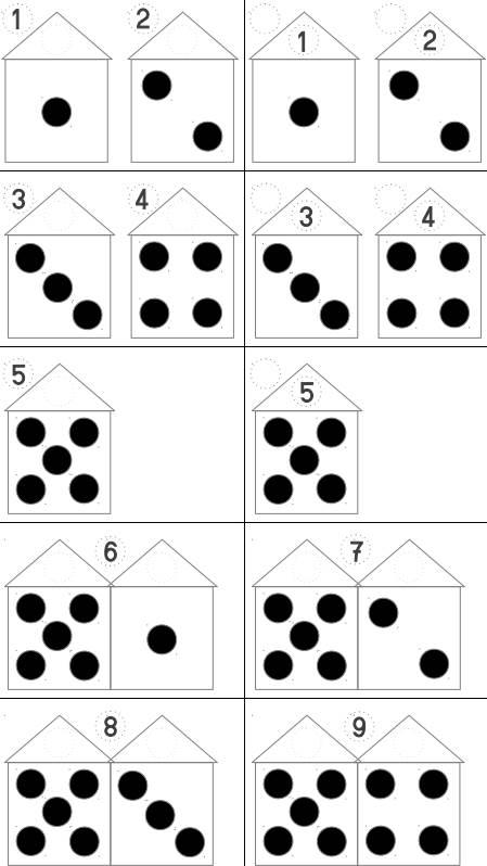 Zahlenland - Zahlenhäuser besuchen