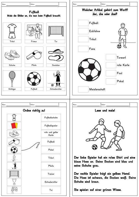 Fußball-Begriffe