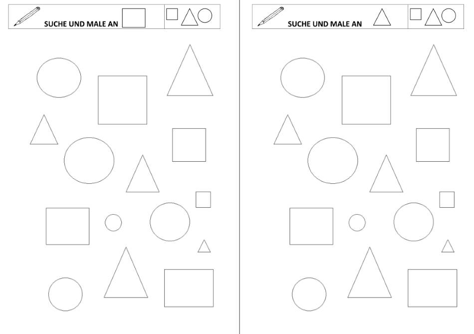 Formen zeichnen