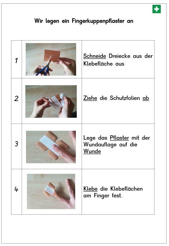 Fingerkuppenpflaster