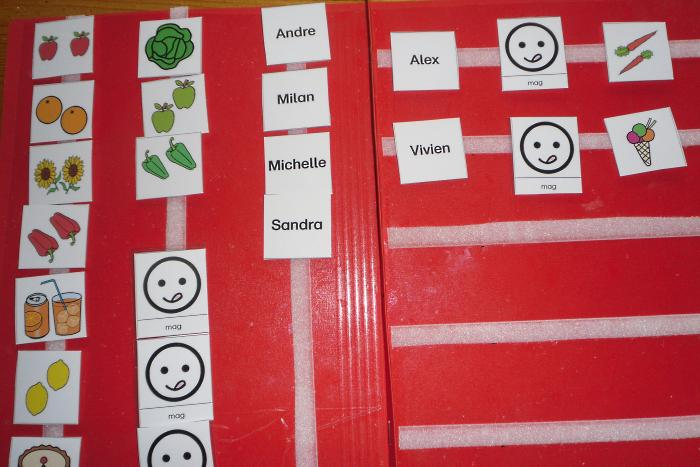 Aufgabenmappe - Kleine Sätze legen