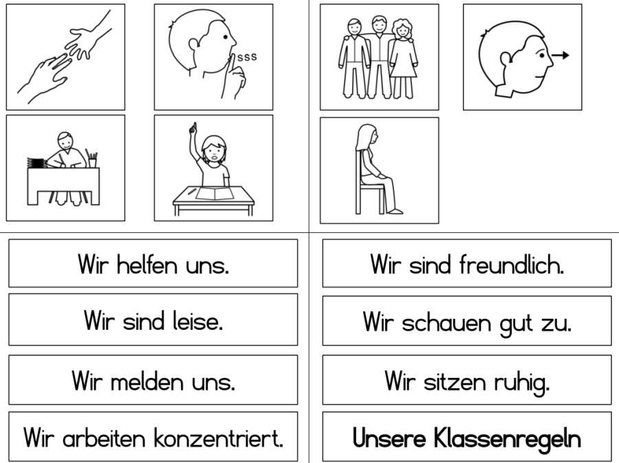 Klassenregeln zum Ausdrucken 3