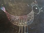 Hühnchen (Kratztechnik)