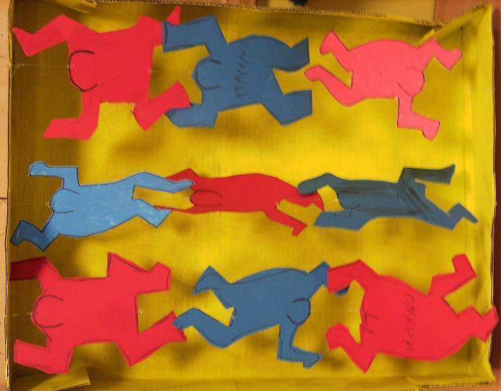 Keith Haring Bilder 3dimensional