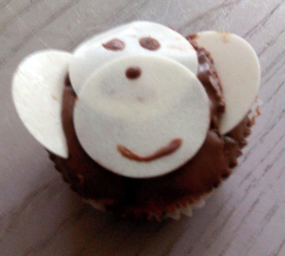 Affen-Muffin