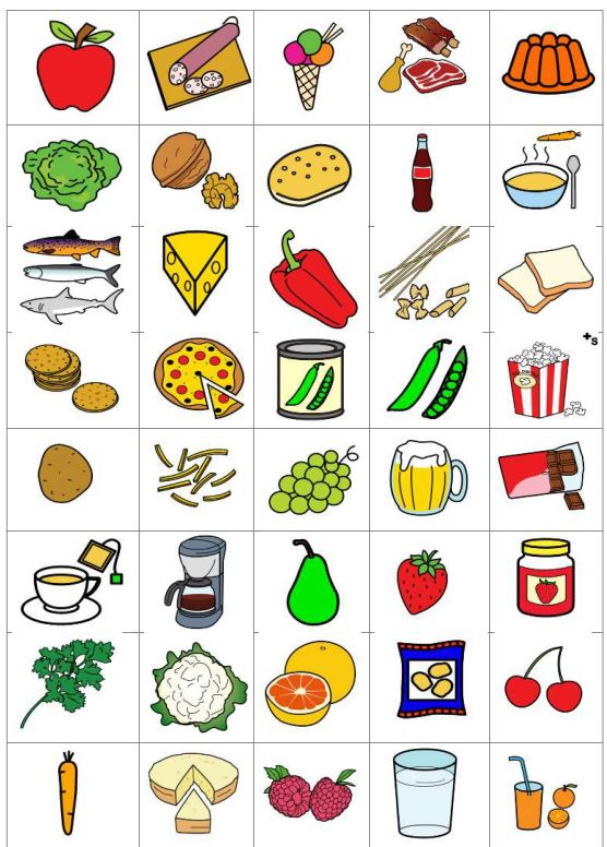 Gesunde und ungesunde Lebensmittel