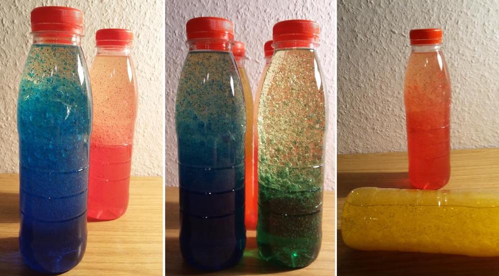 Glitzerflasche - Wunderflasche