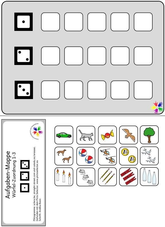 Aufgabenmappe - Zahlenraum 1-3