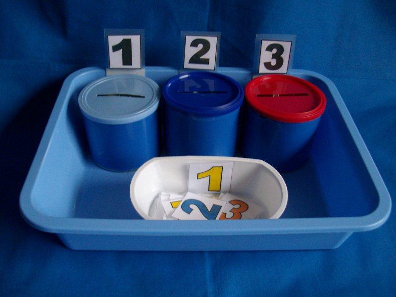 Zahlen und Mengen erkennen und zuordnen