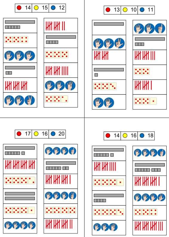 Klammerkarten zur Orientierung im ZR 20
