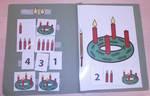 Aufgabenmappe - Advent, Advent, ein Lichtlein brennt!