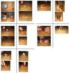 Bildanleitung - Wir bauen eine Krippe aus Keksen